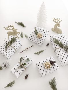 DIY: Christmas Gifts Wrapping Paper