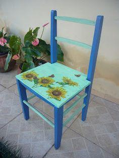 Renovando e aproveitando: Cadeiras