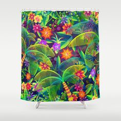 Cosa Tropicosa Shower Curtain by carlos lerma - $68.00