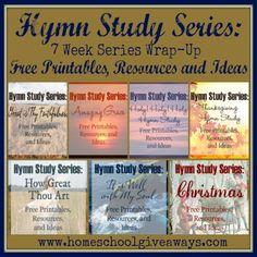 Hymn Study Series: 7 Week Series Wrap-Up! | Homeschool Giveaways