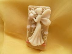 VEGAN Natural Soap Figurine - SAGITTARIUS FAIRY (Lavender and plants macerate)…