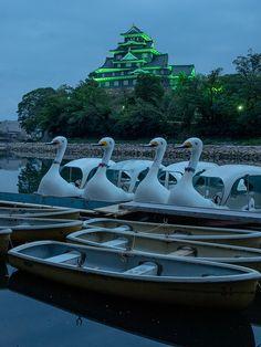 Okayama Castle, Japan 岡山城