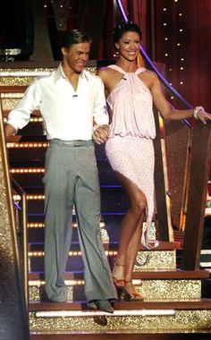 Shannon Elizabeth & Derek Hough (DWTS 6) Rumba week 6