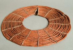 Africa | Necklace from the Turkana and Pokot peoples of Kenya. | Beads and natural fibers.