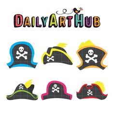 Pirate Hats 6-14-16