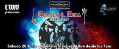 METALHOUSE: FEDRA en Lima. Sábado 20 Junio  MiniFeria e Ingreso Libre desde las 7pm  https://www.facebook.com/events/361551330705037  Desde Bogotá-Colombia  FEDRA  Encabezará el cartel del festival más extremo de Lima,  como parte de su Álbum Debut y Gira THE GATES OF HELL TOUR 2015.  Bandas Soporte: Enygma Perú Sentencia o Muerte (Trujillo) Heavy Metal  Strogena Blizzard Hunter VULTURE Phalarys Hellthrasher ECTHYMA Anikiller  S/. 10 soles  a partir de las 9pm  Incluye una cerveza