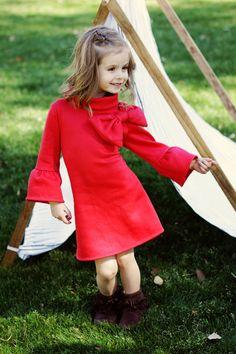 Childrens couture patron, PDF, filles robe motif, Baby couture patron, téléchargement immédiat, enfants, vêtements pour enfants, The robe de Elke