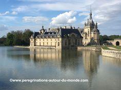 Aujourd'hui visite du #château de #chantilly. Riche collection d'oeuvres d'art.