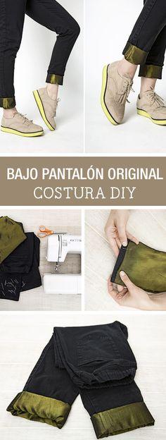 Tutorial DIY - CÓMO DECORAR EL BAJO DE UN PANTALÓN en DaWanda.es