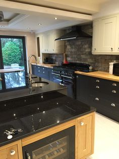 Fireslate Countertops, Windows Above Sink, Cabinets Above Windows | Kitchen  | Pinterest | Countertops, Sinks And Bungalow