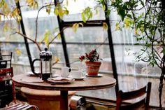coffee + rain