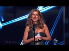 Celine Dion Present Top Male Artist at 2015 Billboard Music Awards HD