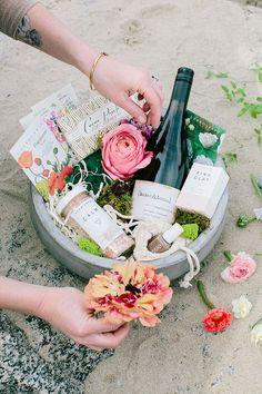 spring gift basket