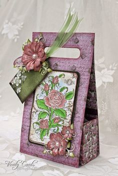 Oohh I have been itching to share this !!I love this stamp and the papers !!Yes......... its Wednesday again !!!That means Heartfelt Creations projects !!! Have you checked out the blog?There is some great projects this week ! Click on the pic below....