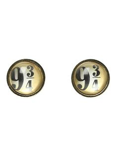 Harry Potter 9 3/4 Stud Earrings | Hot Topic