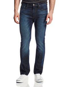 G-Star Raw Mens Slim Straight Fit Jeans Size 32 In Geare Dark Aged NWT $220 #GStar #ClassicStraightLeg