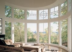 Bay Bow Window. Gorgeous Marvin White Window! Let us help you transform your home! Please call NEXT for all of your window & door needs. 630-590-1201
