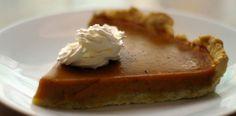 Pastel o Pie de Calabaza Receta de cocina facil sana y original La encimera azul