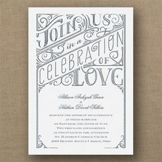 All in the Details - Classic Invitation - White Textured