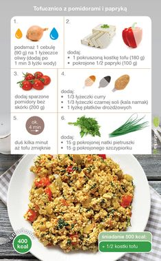 Vegan Recipes, Snack Recipes, Snacks, Vegan Food, Tofu, Clean Eating, Curry, Lunch Box, Meals
