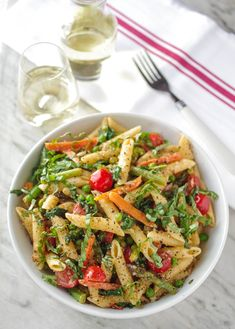 Recipe for pasta primavera