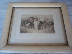 William Strutt Print          A Little Child Shall Lead Them