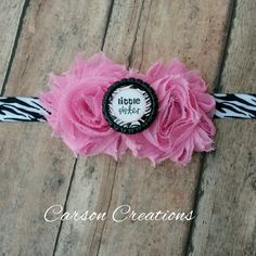 Little Sister Zebra print headband, pink and Zebra headband, baby headband, infant headband, Sister bows, Little sister hair bow, toddler by CarsonCreations07 on Etsy