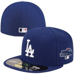 New Era L.A. Dodgers 2013 Postseason 59FIFTY On-Field Fitted Hat - Royal Blue