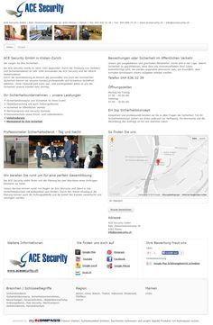 ACE Security GmbH, Kloten, Sicherheitsdienst, Zürich, Bewachungen, Ordnungsdienste, Personenschutz