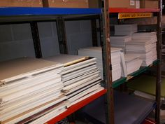 Mount board in various sizes.                 Gloucestershire Resource Centre http://www.grcltd.org/scrapstore/