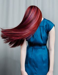 Multi-tonal red. Love. I've had some form of red in my hair for 24 years and I'm still obsessed with it.