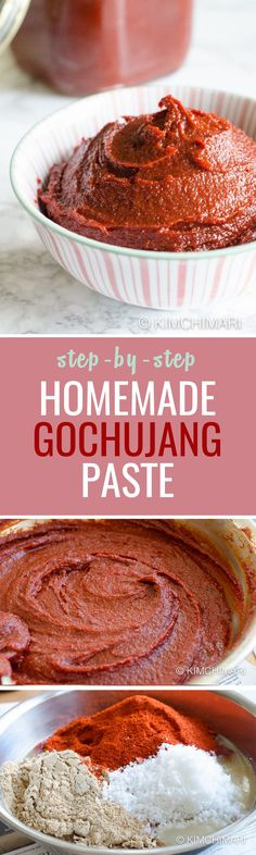 A staple pantry item in a Korean kitchen, this chilli paste is almost instant!