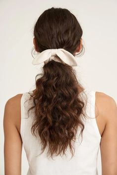 Tie up your locks with this super soft and delicate cashmere hair scrunchie. Cashmere Hair, Cashmere Socks, Tied Hands, Monogram Shop, Fun Gifts, Scrunchies, Hair Ties, The Ordinary, Locks