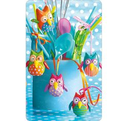 Cute feel-good owls decoration with Polymer Clay Fimo - Perles & Co