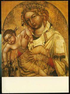 Gotica A Rana Renesance:Bohemian Master of 1350, The Madonna of Strahov