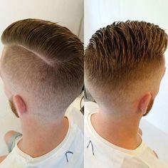 #Repost @__staysharp__ ・・・ Hard part… #barber #ladybarber #wahlpro #pomade #officiallayrite #hardpart #fade #barbergang #barberlife #dutchbarbersconnect #menscut #climaxhair @climaxhairwijlre