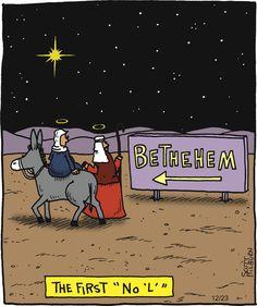The Argyle Sweater Comic Strip Christian Comics, Christian Cartoons, Christian Jokes, Funny Cartoons, Funny Comics, Bible Humor, Bible Jokes, Church Humor, Puns