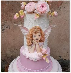 Torta Angel, Pretty Cakes, Desserts, Food, Beautiful Cakes, Tailgate Desserts, Deserts, Essen, Postres