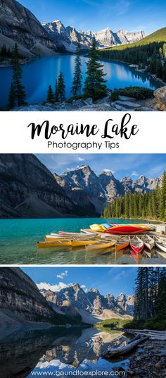 Moraine Lake is the crown jewel of the Canadian Rockies. It is a must-visit destination if you are visiting Banff National Park in Alberta.