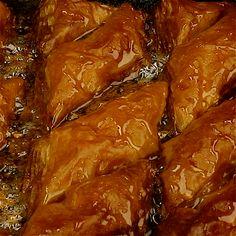 Türkische Süßspeise mit Erdnussbutter |