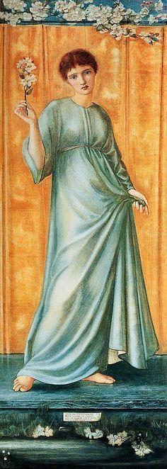 Edward Burne Jones - Spring
