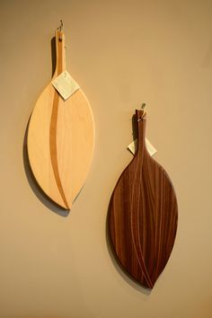 Wooden leaf cutting boards sold here at 16 Hands in Ann Arbor!  #16Hands #Kerrytown #AnnArbor #Gifts #CuttingBoard #Leaf #Art #Kitchen #KitchenWare #ServingBoard #Food