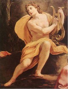Apollo- god of music, medicine, and the sun.
