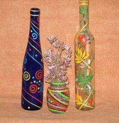 Бутылки. Декор. Идеи из интернета.. Обсуждение на LiveInternet - Российский Сервис Онлайн-Дневников