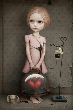 Very Mark Ryden-esque not sure who created it however