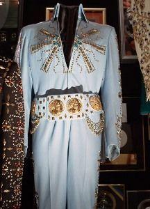 Elvis Presley In Concert1972.... Aztec Star aka Tiffany jumpsuit. exhibited in Graceland