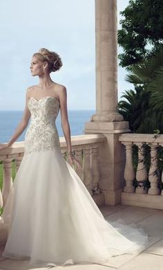 Casablanca 2149 wedding dress currently for sale at 50% off retail.