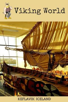 We visited a Viking Museum in Iceland. Viking World museum in Keflavik is fast growing into a major attraction in Iceland. Boats, exhibition and a Viking farm make for a great experience. . . | Things to do in Iceland | Museums in Iceland | Iceland Vikings | Kids attractions Iceland | Vikings in Iceland | Iceland with kids |