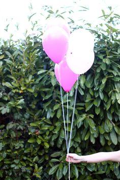 DIY Pom Pom Balloons   Squirrelly Minds .
