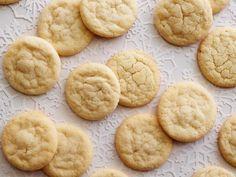 Get Chewy Sugar Cookies Recipe from Food Network